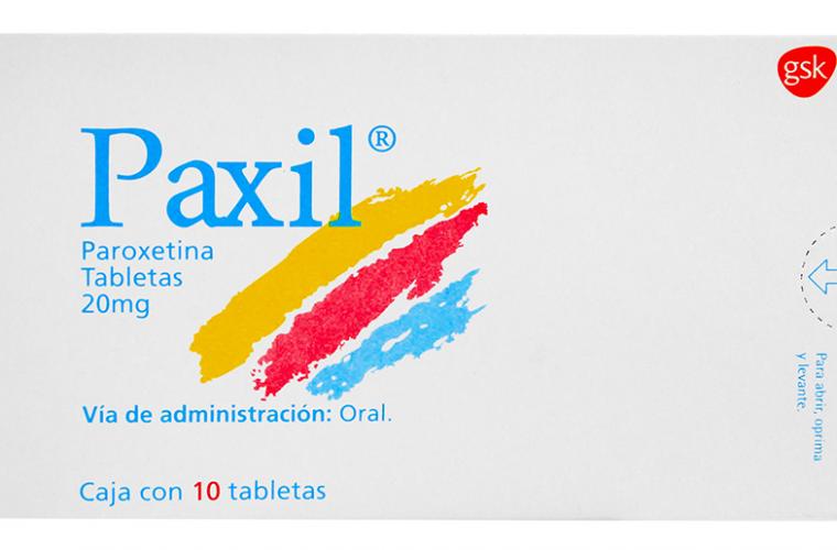 erección de paroxetina