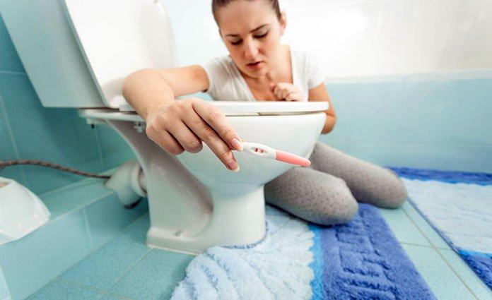 en cuanto tiempo se sienten los sintomas de embarazo