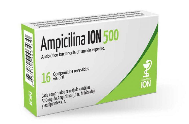 ampicilina se puede tomar en embarazo