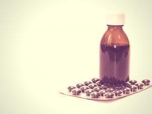 jarabe y pastillas